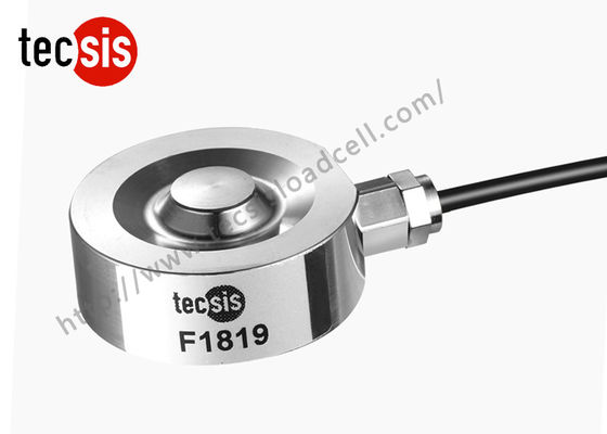 China Waterproof Industrial Compression Load Cell With Low Profile Of Testing supplier