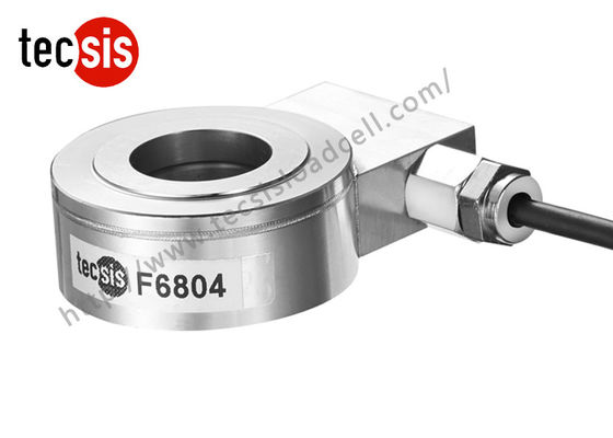 China Donut Washer Type Compression Load Cell , Stainless Steel Load Sensor Load Cell supplier