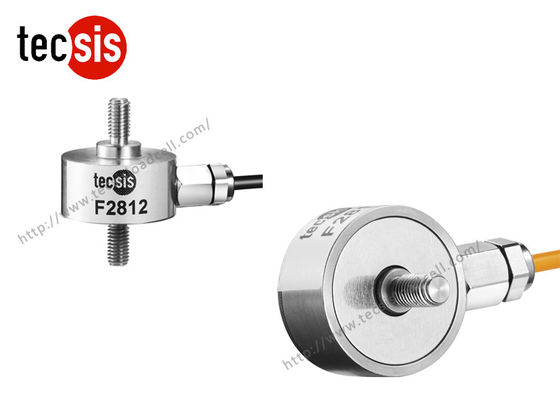 China Single Stainless Steel Testing Compressive Load Cell Strain Gauge 10kg 100kg supplier