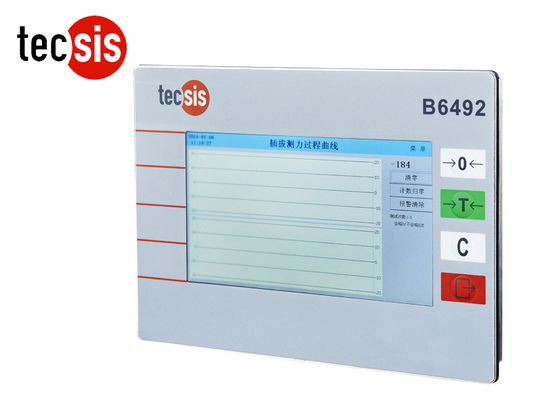 Touch Screen Force Display Weighing Scale Indicator Curve Display
