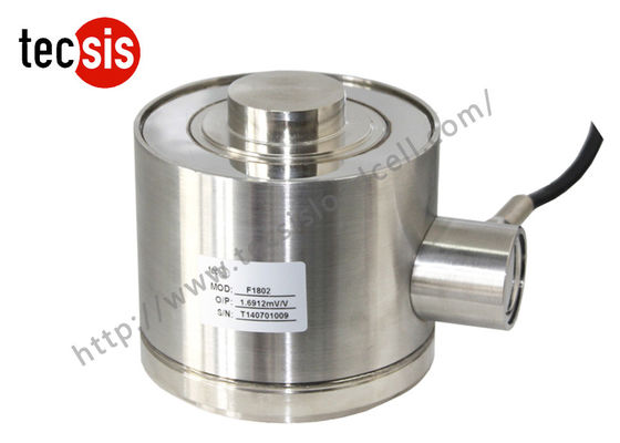 Column Type Waterproof Compression Load Cell IP68 For Weighbridge / Hopper