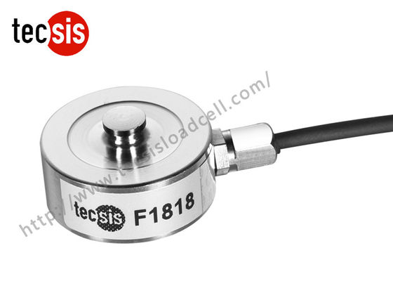 China Small Tank Weighing Compression Load Cell Strain Gauge , Button Type factory