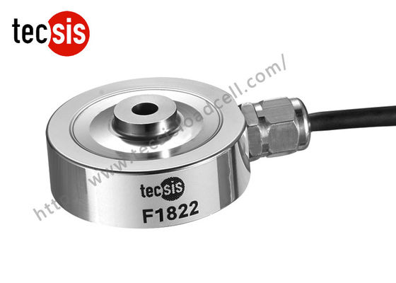 High Capacity Thru Hole Compression Load Cell Small With Simple Structure