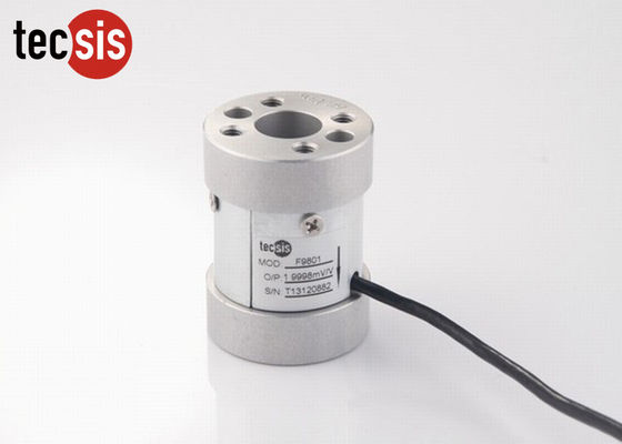 Small Strain Gauge Force Torque Sensor Column Load Cell , High Accuracy