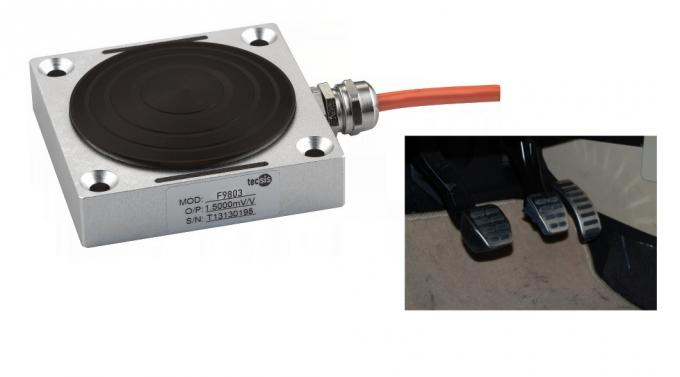 Custom Compression Load Cell Sensor For Brake Pedal Force 500N To 2500N