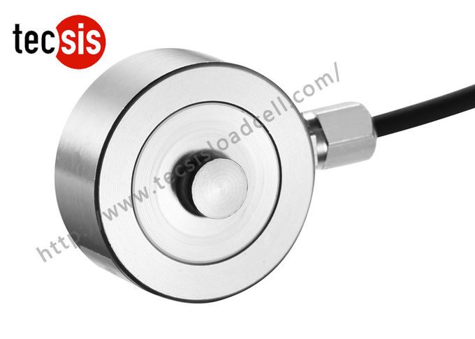 Micro Low Profile Stainless Steel Load Cell Compression Type 5kg To 2000kg