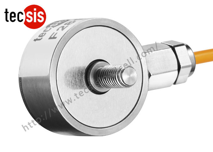 Single Stainless Steel Testing Compressive Load Cell Strain Gauge 10kg 100kg